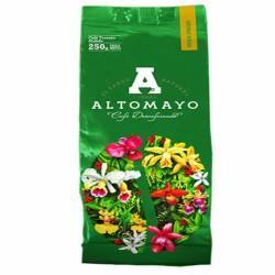 ALTOMAYO - PERUVIAN MILLED DECAFFEINATED COFFEE TO COFFEE POT , BAG x 250 GR