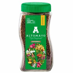 ALTOMAYO - MILLED NATURAL DECAFFEINATED COFFEE , PERU - JAR x 180 GR
