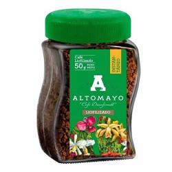 ALTOMAYO - PERUVIAN MILLED DECAFFEINATED  INSTANT COFFEE , JAR x 50 GR