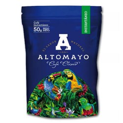 ALTOMAYO - MILLED COFFEE 100% NATURAL , PERU - SACHET X 50  GR