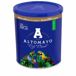 ALTOMAYO - PERUVIAN  MILLED COFFEE - CAN X 500 GR
