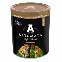 ALTOMAYO GOURMET - PERUVIAN GRANULATED INSTANT COFFEE  - CAN x 500 GR