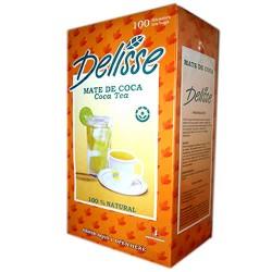 DELISSE - ANDEAN TEA INFUSIONS  - BAG X 100 TEA BAGS