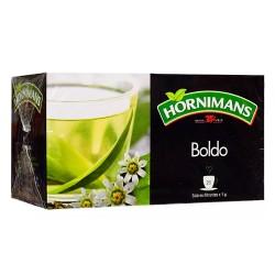 HORNIMANS - PERUVIAN BOLDO TEA INFUSION - BOX OF 25 TEA BAGS