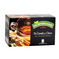 HORNIMANS - TEA AND CINNAMON AND CLOVE INFUSIONS , BOX OF 25 UNITS