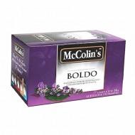 MCCOLIN'S  - PERUVIAN BOLDO TEA  INFUSION , BOX OF 25 UNITS