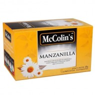 MCCOLIN'S -  CHAMOMILE TEA INFUSIONS , BOX OF 25 UNITS