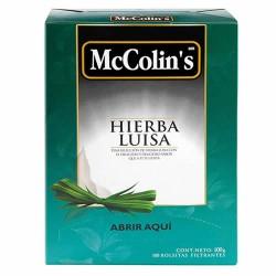 MCCOLIN'S -  LEMON VERBENA TEA INFUSIONS , BOX OF 100 UNITS