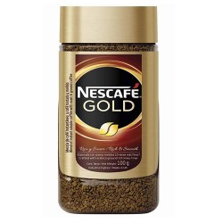 NESCAFE GOLD - SELECTED GRANULATED COFFEE , JAR X 100 GR