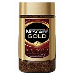 NESCAFE GOLD - SELECTED GRANULATED COFFE , JAR X 200 GR