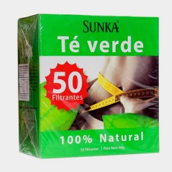 SUNKA - GREEN TEA INFUSION , BOX OF 50 UNITS