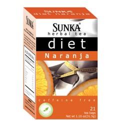 SUNKA - PERUVIAN DIET ORANGE INFUSION PERU, BOX OF 21 UNITS