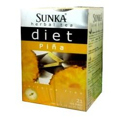 SUNKA - PERUVIAN DIET PINEAPPLE TEA, BOX OF 21 UNITS