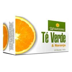 WAWASANA - PERUVIAN GREEN TEA WITH ORANGE BOX OF 20 UNITS