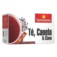 WAWASANA - PERUVIAN TEA INFUSION, BOX OF 25 BAG FILTERS