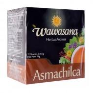 WAWASANA - PERUVIAN ASMACHILCA INFUSION, BOX OF 12 BAG FILTERS