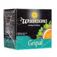WAWASANA  GRIPAL - PERUVIAN TEA INFUSION, BOX OF 12 UNITS