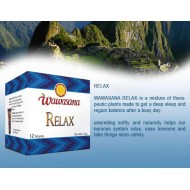 WAWASANA - PERUVIAN RELAX INFUSION, BOX OF 12 BAG FILTERS