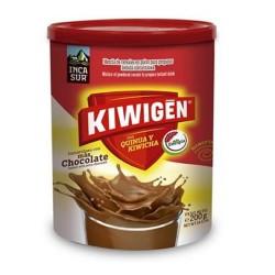KIWIGEN - PERUVIAN ENERGIZER DRINK CHOCOLATE FLAVOR, JAR X 200 GR