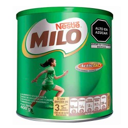 MILO - ENERGIZING DRINK CHOCOLATE FLAVOR , CAN X 400 GR