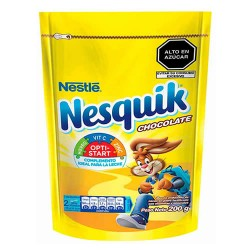 NESQUIK - ENERGIZING DRINK CHOCOLATE FLAVOR , BAG X 200 GR