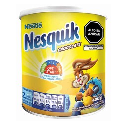 NESQUIK - ENERGIZING DRINK CHOCOLATE FLAVOR , CAN X 400 GR