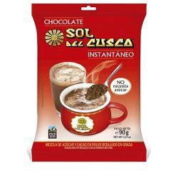 SOL DEL CUSCO - INSTANT MILLED CHOCOLATE , PERU - BAG X  90 GR