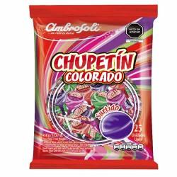 AMBROSOLI -  LOLLIPOPS COLORADO, ASSORTMENT BAG  X 25 UNITS