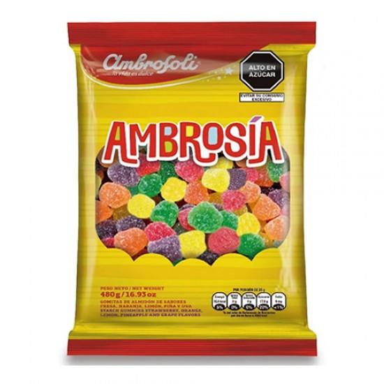 AMBROSOLI - AMBROSIA JELLY GUMS CARAMELS CANDIES X 480 GR