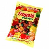 AMBROSOLI - FRUGELE SMALL GUM CANDIES CARAMELS X 100 UNITS