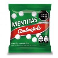 "AMBROSOLI ""MENTITAS"" - MINT FLAVORED CANDIES , BOX OF 24 UNITS"