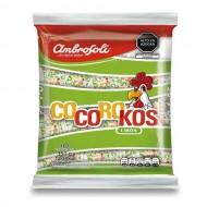 "AMBROSOLI  ""COCOROKOS"" - HARD CANDIES FLAVORED LEMON , BAG 350 GR X 100 UNIT"