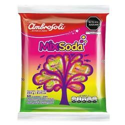 AMBROSOLI  - MIXSODA HARD CANDIES , BAG x 60 UNITS