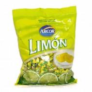 ARCOR - HARD LEMON CANDIES CARAMELS , BAG X 100 UNITS