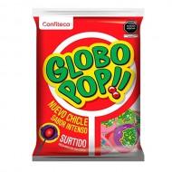 GLOBO POP - ASSORTED FLAVOR LOLLIPOPS , BAG X 24 UNITS