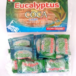 PERUVIAN CANDY WITH EUCALYPTUS ,  BAG X 1 KG