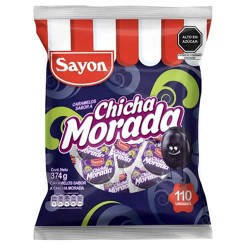 SAYON - CHICHA MORADA CARAMELS BAG X 390 GR X 115 UNITS