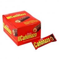 CAÑONAZO - STUFFED CHOCOLATE BAR, BOX OF 24 UNITS