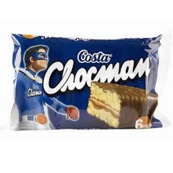 CHOCMAN - CHOCOLATE SPONGE CAKE, PACK X 6 UNITS