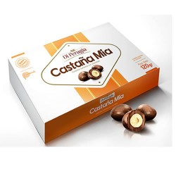 DI PERUGIA CASTAÑA MIA - BATHED CHESTNUTS WITH CHOCOLATE , BOX OF 120 GR