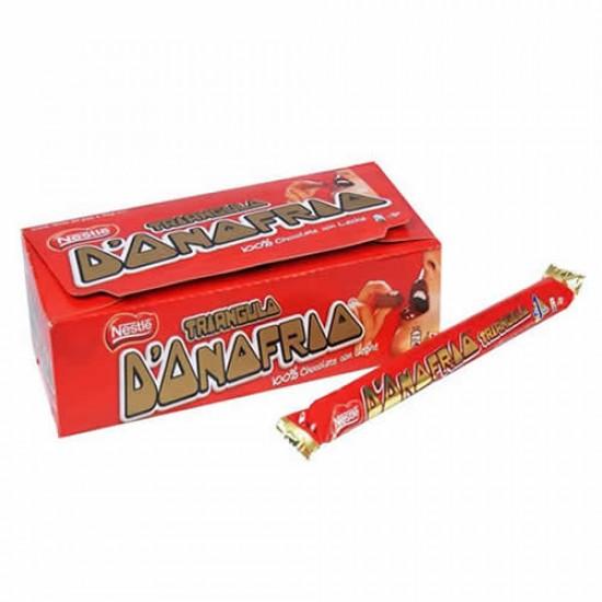 TRIANGULO DONOFRIO - CHOCOLATE WITH MILK , BOX OF 20 UNITS