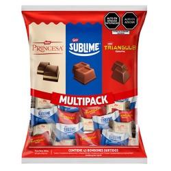 MULTIPACK - ASSORTED DONOFRIO PRINCESA & SUBLIME MINI CHOCOLATE BONBONS , BAG X 360 gr