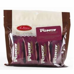 LA IBERICA MINI FONDY - PERUVIAN SEMI-SWEET CHOCOLATE MINI BAR , DOYPACK X 200 GR