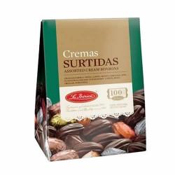 LA IBERICA - ASSORTMENT CHOCOLATE CREAMS BONBONS, BOX OF 150 GR