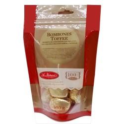 LA IBERICA - TOFFEE BONBONS , BAG X 100 GR