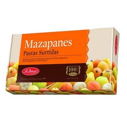 LA IBERICA MAZAPAN - MARZIPAN MADE OF SMALL DOUGH & CHESNUT, BOX X 250 GR