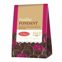"LA IBERICA - PILLS OF CHOCOLATE "" FONDANT "" , BOX OF 150 GR"