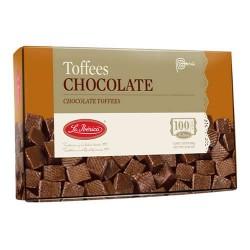 LA IBERICA - PERUVIAN CHOCOLATE TOFFEES - BOX OF 300 GR