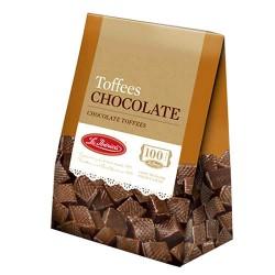 LA IBERICA - PERUVIAN CHOCOLATE TOFFEES - BOX OF 150 GR