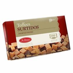 LA IBERICA - PERUVIAN ASSORTMENT TOFFEES PERU- BOX OF 300 GR